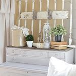 Good morning friends  happy Monday I spent this past weekend working on one of my many goals for the new year organizing  decluttering the house I made good progress  even managed to use a lot of my favorite vintage decor to help solve some of my organization woes I shared it all over on the blog today so grab your coffee  come on over I have lots of simple  easy tips to organize your home with vintage decor littlevintagenestcomlink in my profile