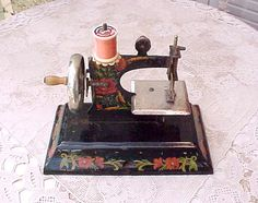 Adorable Vintage German Child's Toy Sewing by Moonmaidenemporium, $85.00