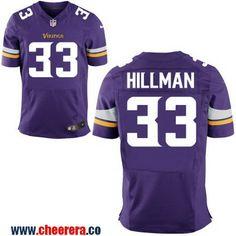 Men s Minnesota Vikings  33 Ronnie Hillman Purple Team Color Stitched NFL  Nike Elite Jersey Are fec3029f4