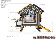 home garden plans: - Large Chicken Coop Plans - How to Build a Chicken Coop - (Multifunction & Full Options - Free Chicken Coop Plans) Tons of variations. Good coops for winter Mobile Chicken Coop, Portable Chicken Coop, Chicken Coup, Backyard Chicken Coops, Chickens Backyard, Large Chicken Coop Plans, Chicken Coop Blueprints, Chicken Coop Designs, Building A Chicken Coop
