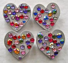 Heart pin {Big A little a}
