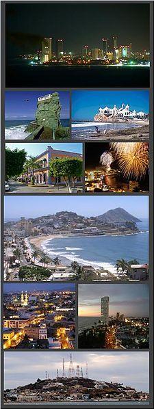 Mazatlán, Sinaloa en Mexico