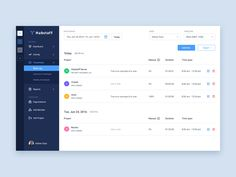 Check out Work log by Adrian Goia  on our Dribbble page. Like and share if you appreciate it