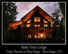 Rental Cabin with Mountain Views. Bella Vista Lodge is a fully equipped Vacation Home with Mountain Views and a Game Room. Professionally Managed by Cabin Rentals of Blue Ridge. Georgia Cabin Rentals, Blue Ridge Georgia, Rustic Home Interiors, Luxury Cabin, Vacation Destinations, Vacation Ideas, Mountain Cabins, Mountain Living, Thanksgiving