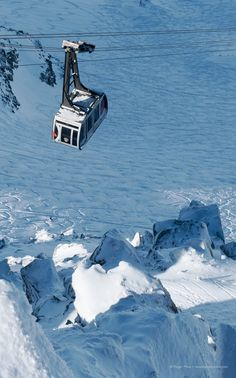 The Grands Montets cable-car above Argentière in the Chamonix valley, Savoie, French Alps. Alpine Ski Resort, French Ski Resorts, Chamonix Mont Blanc, French Summer, Winter Running, Ski Lift, French Alps, Ski Chalet, Live Today