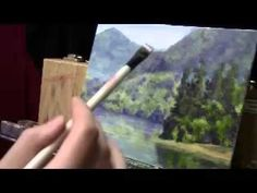 Acrylic Glazing Technique Demonstration - Water Reflections and Depth - YouTube