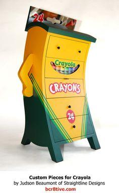 Judson Beaumont Furniture = Crayola Dresser