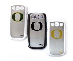Oregon Ducks Samsung S3 Silver Case | Ulife