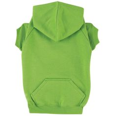 zack and zoey Basic Dog Hoodie - Parrot Green at Baxterboo