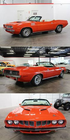 1971 Plymouth Cuda Convertible Stopping Power, Above And Beyond, Plymouth, Cars For Sale, Convertible, Cars For Sell