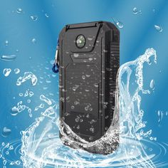 Waterproof Solar Power Bank 20000mah Dual USB Li-Polymer Solar Battery Charger #UnbrandedGeneric