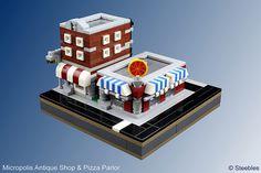 Micropolis Antique Shop & Pizza Parlor   Flickr - Photo Sharing!