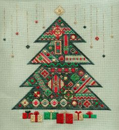 Laura J Perin Designs cross stitch patterns and kits Broderie Bargello, Bargello Needlepoint, Needlepoint Stitches, Needlepoint Canvases, Needlework, Christmas Tree Images, Christmas Ornament Crafts, Christmas Presents, Xmas