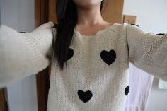 knit sweater. ♡