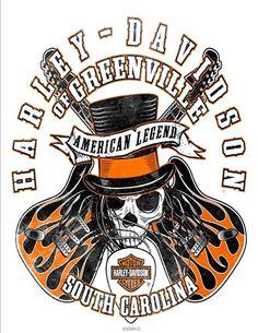 Big selection of T-shirts at Harley-Davidson of Greenville