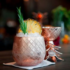 Elyx Pineapple: This picturesque pineapple and vodka concoction features a hint of Oloroso sherry and a showstopping secret ingredient: salted caramel syrup.