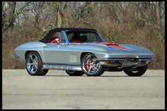 1967 Chevrolet Corvette Resto Mod LS3/525 HP, 6-Speed at Mecum Auctions