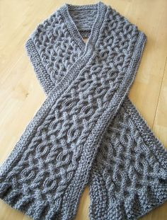 This might be a good way to practice cables? Before tackling a sweater?