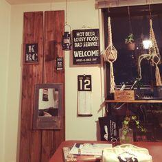 orner/塩系目指す!/男前/男前インテリア/白黒/壁/天井…などのインテリア実例 - 2015-12-12 22:23:19 | RoomClip(ルームクリップ)
