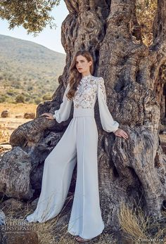 The new Costarellos wedding dresses have arrived! See what the latest Costarellos bridal collection has to offer engaged brides. Wedding Dress Styles, Bridal Dresses, Bridal Collection, Dress Collection, Wedding Jumpsuit, Iconic Dresses, Bridal Fashion Week, Bridal Style, Marie