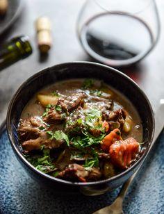 Cabernet Braised Short Rib Beef Stew