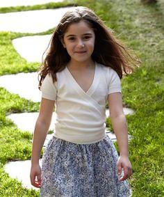 White Marina Cardigan - Toddler & Girls