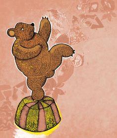 Django, poor dancing bear - a children`s book story Dancing, Bear, Children, Illustration, Books, Dance, Livros, Boys, Libros