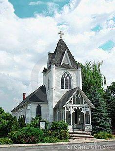 Pretty small-town church