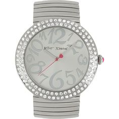 Betsey Johnson Betseys Jumbo Bling Watch $125