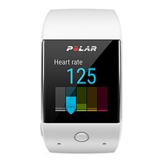 Polar M600 GPS Sports Watch White, One Size   Polar M600 Android Wear Smartwatch Don't compromise on any aspect of your active lifestyle, especially your smart watch. With access to over 4,000 third par