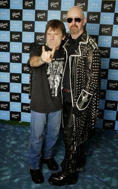 Bruce Dickinson e Rob Halford
