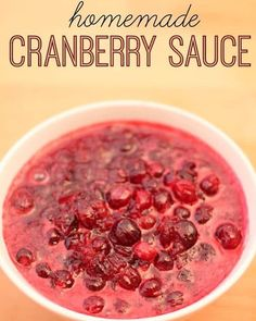 Want to skip the canned cranberry sauce this year and take a shot at making your own? @sixsistersstuff has a simple recipe, sure to impress your Thanksgiving guests! . . INGREDIENTS 1 cup granulated sugar 3/4 cup orange juice 1 (12 ounce) package fresh cranberries INSTRUCTIONS In a saucepan over medium heat, combine sugar and orange juice and whisk together until sugar is dissolved.  Stir in cranberries and cook for about 10 minutes, or until they begin to pop.  Remove from heat and transfer…