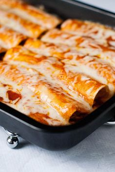 Taco Chicken Enchiladas |heatherlikesfood.com