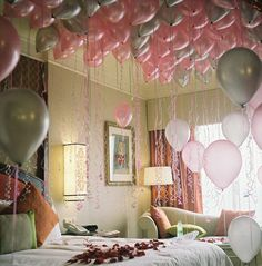 The ballons are gonna bring you the sweetest dreams.