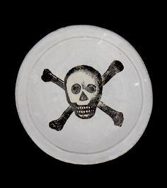 Astier de Villatte John Derian Skull Plate