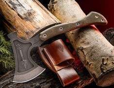 """Hammer Hawk Ax.  It's a full-tang, 3/8"""" thick piece of 1075, so it is not meant to be a light-weight ax #hardware #tools #axe #hatchet #weapon"""