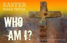 Easter Bible Trivia Game