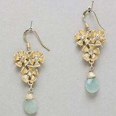 Leanna Earrings in Chalcedony