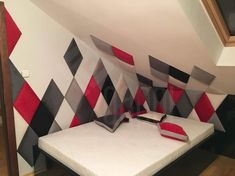 dappi - Galeria - panele tapicerowane, dekoracyjne, ścienne Bed Headboard Design, Headboards For Beds, Bedroom Closet Design, Kids Bedroom, 3d Kitchen Design, Living Room Decor, Bedroom Decor, Luxury Sofa, Wood Work