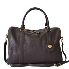 PacaPod Leather Nappy Bag Firenze - Chocolate