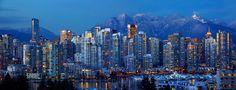 vancouver skyline best view - Google zoeken