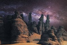 Photograph Milky Way On Mount alula by Nasser  AlOthman on 500px