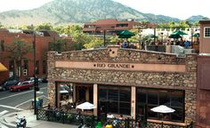 My Happy Place on the roof with a margarita:-)Mexican Restaurant Rio Grande - Boulder