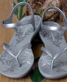 Ipanema GB Sandal Fem - Grey/Silver
