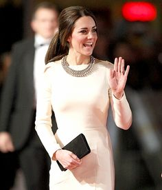 "Kate Middleton attends the Royal film performance of ""Mandela: Long Walk To Freedom"" at Odeon Leicester Square on Dec. 5, 2013 in London."