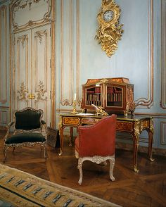 Boiserie from the Palais Paar, 30 Wollzeile, Vienna, Austria Antique Interior, French Interior, Classic Interior, Palace Interior, Interior And Exterior, Interior Design, Interior Decorating, Decoration Baroque, Victorian Rooms