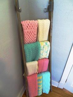 85 reference of blanket Display baby blanket ladder blanket Display baby blanket ladder- Pl Nursery Room, Girl Nursery, Girl Room, Baby Room, Nursery Decor, Room Decor, Blanket Storage, Blanket Ladder, Quilt Ladder