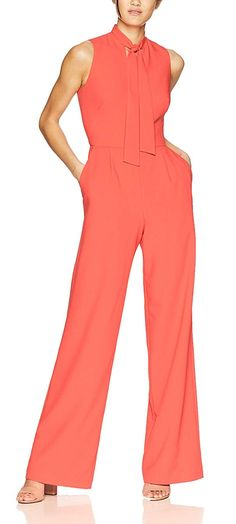 The Hatista – How to wear coral. Coral Outfit Ideas Coral Outfit inspiration What to wear with a coral dress Outfit with Living Coral. Pantone Color of the Year 2019 Living Coral – Creative Summer Wedding Tips Jumpsuit Outfit, Coral Dress, Summer Jumpsuit, Ascot Outfits, Derby Outfits, Summer Outfits, Summer Dresses, Next Dresses, Colors