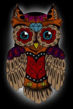 Day of the Dead owl
