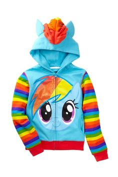I know @Shondi Pugh and I are gonna be tempted to buy this for our future littles. My Little Pony Costume Hoodie (Little Girls) by FREEZE on @HauteLook